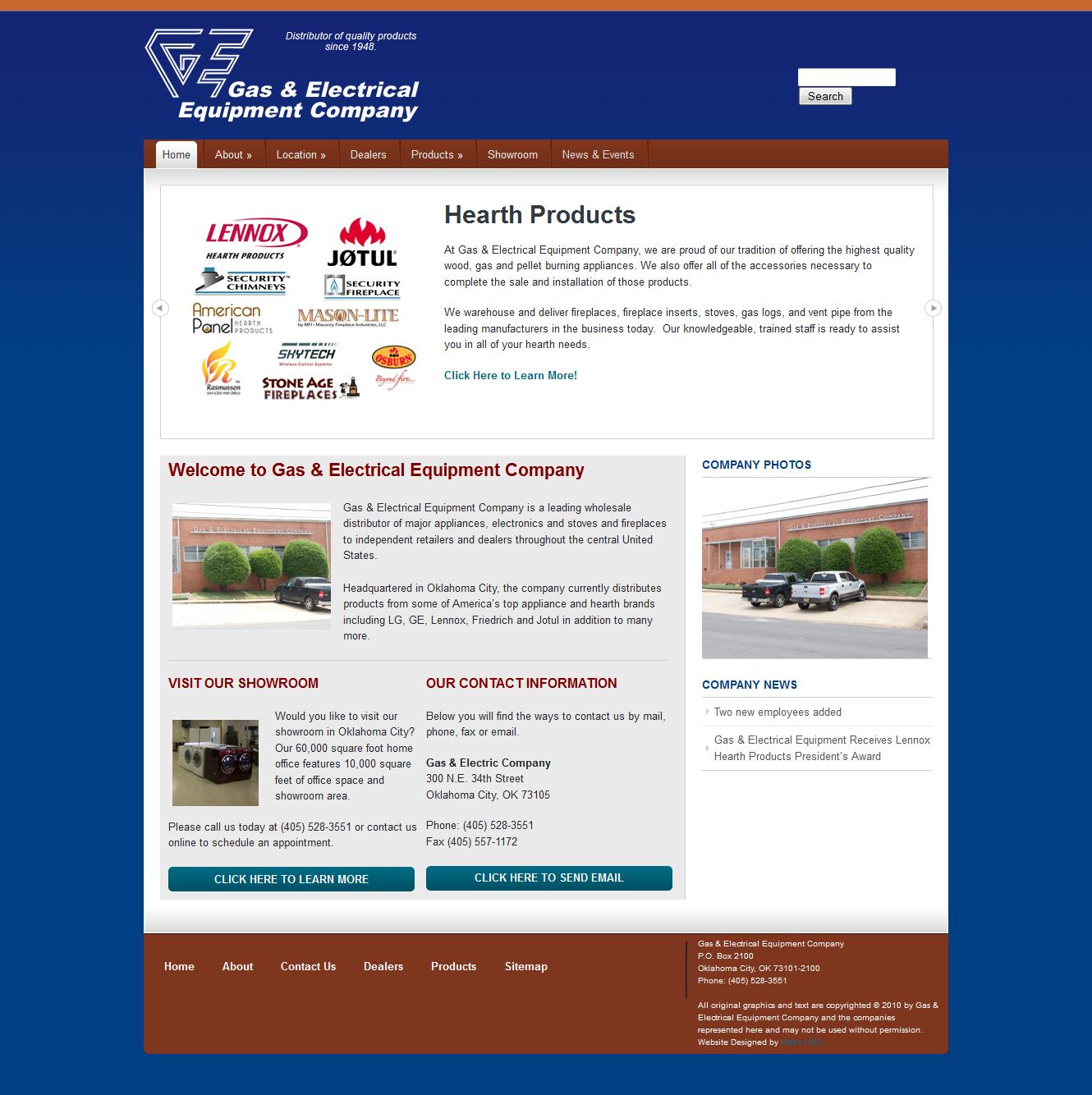 Click here to go to the company website - Www Geeco Inc Com